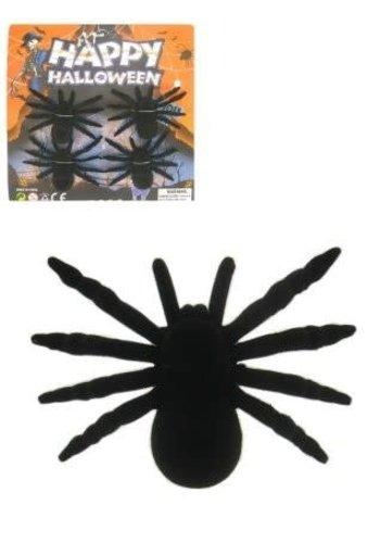 Spinnen zwart - 4 st