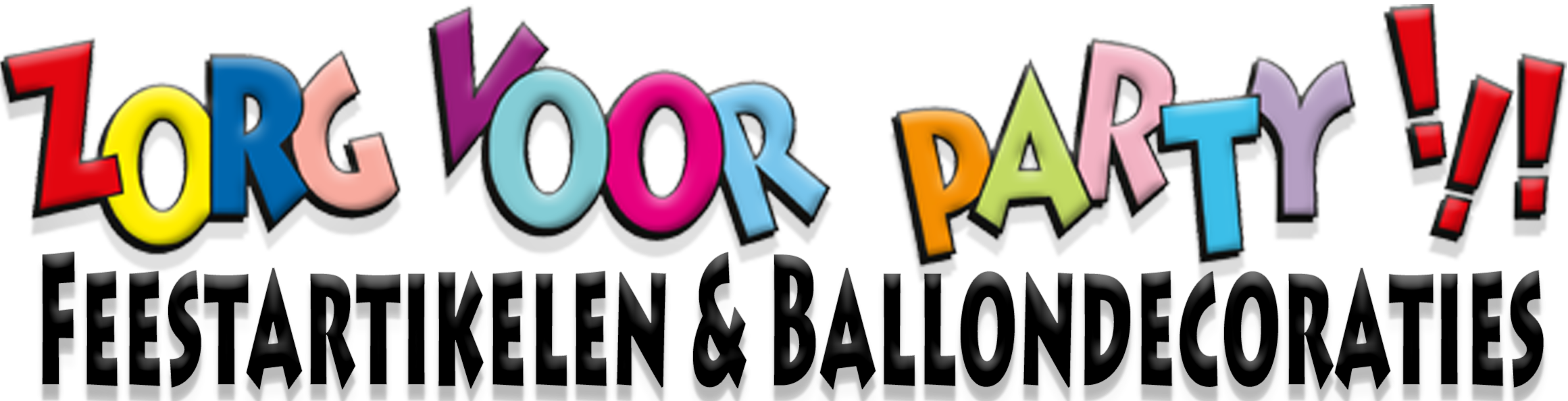 Zorg voor Party online feestartikelen en ballondecoraties