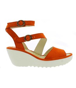 Fly London Cupido Poppy Orange Laatste paar, maat 40!