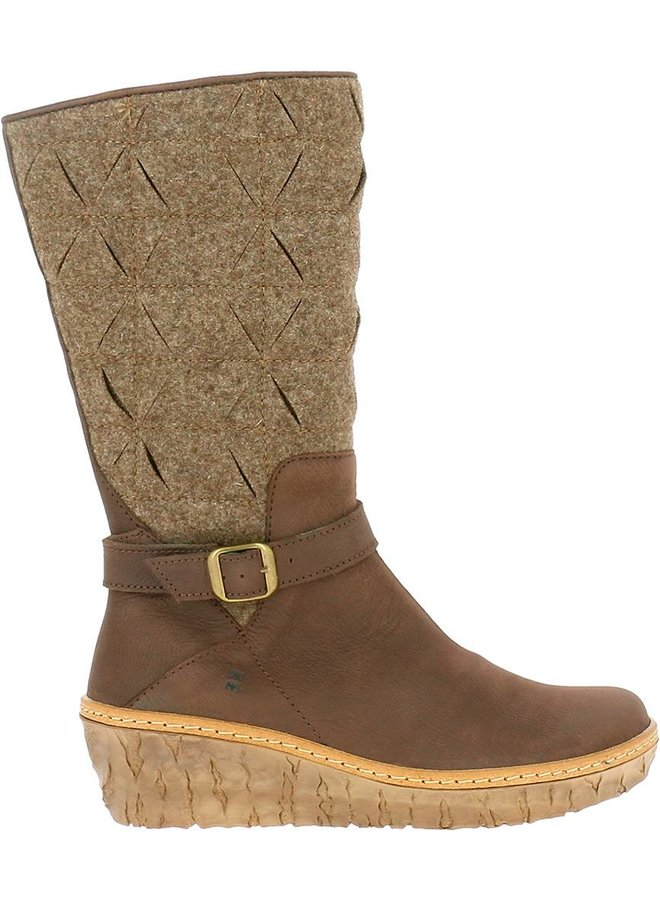 El naturalista N5138 Pleasant Premium Wool Brown / Myth