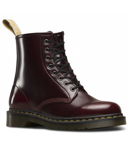 Dr. Martens Dr Martens Vegan 1460 Cherry Red Cambridge Brush Laatste paar, maat 41!