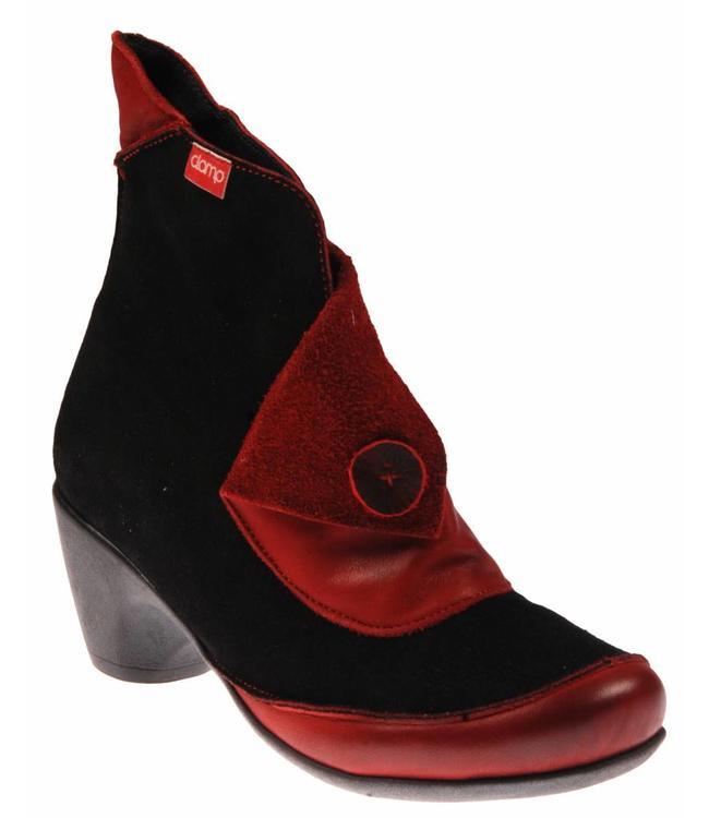 clamp Clamp Dana 003 TR Suede playful black-Red / gigi