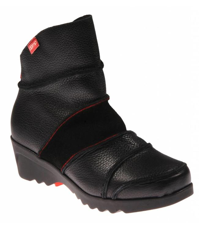 clamp Clamp Colina 002 Apache TR Suede Black Red