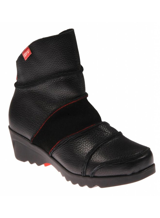 Clamp Colina 002 Apache TR Suede Black Red  Laatste maat 38!
