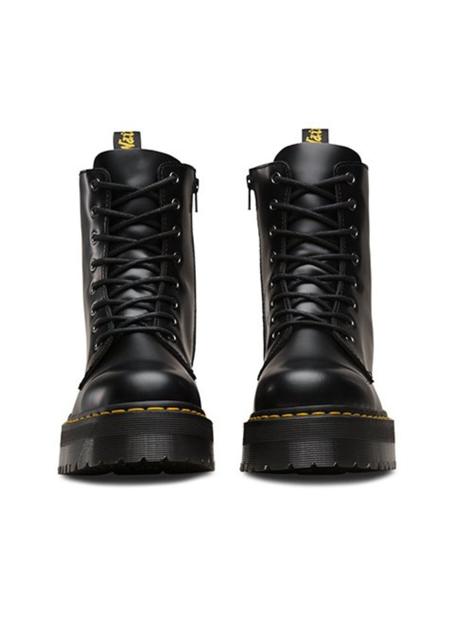 Dr Martens Jadon Black Polished Smooth