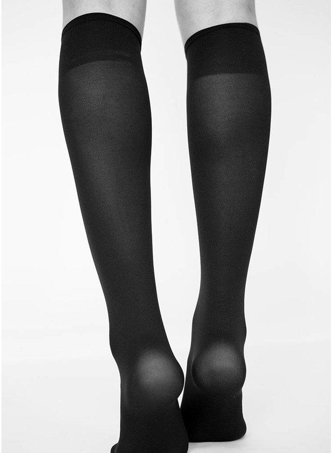 Swedish Stockings Irma Support Kneehigh Black 60 Den