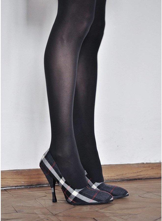 Swedish Stockings Anna black control top 40 Den