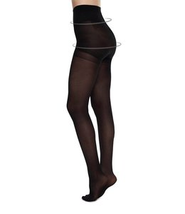 Swedish stockings Swedish Stockings Anna black control top 40 Den