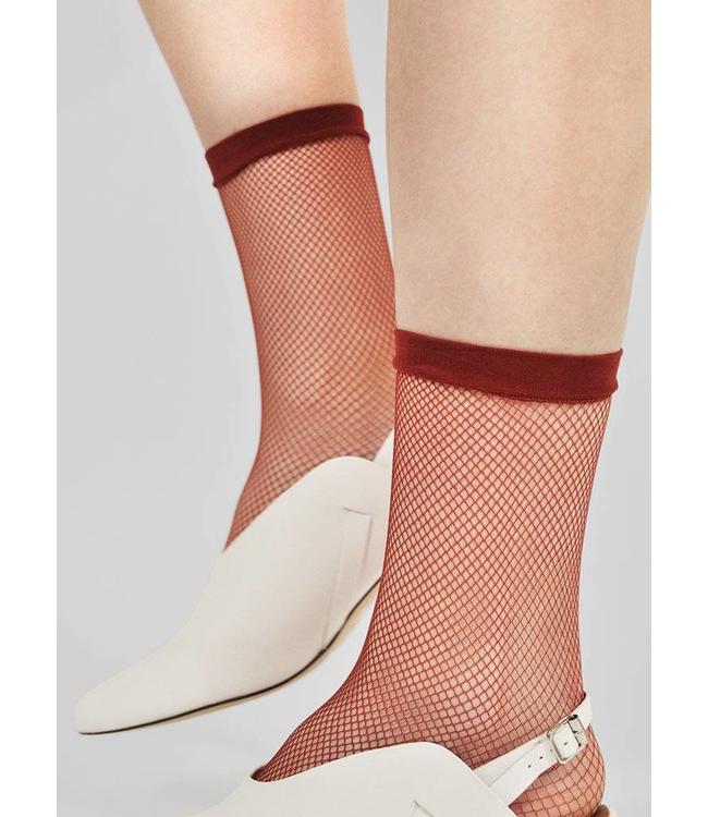 Swedish stockings Swedish Stockings Liv Sock Net Red