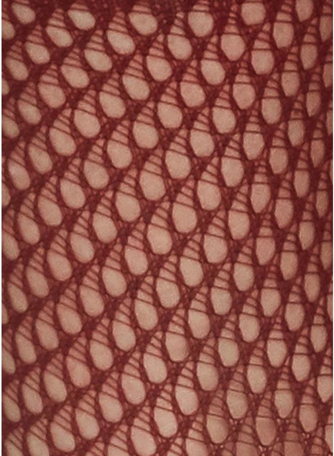 Vera Net Sock Red