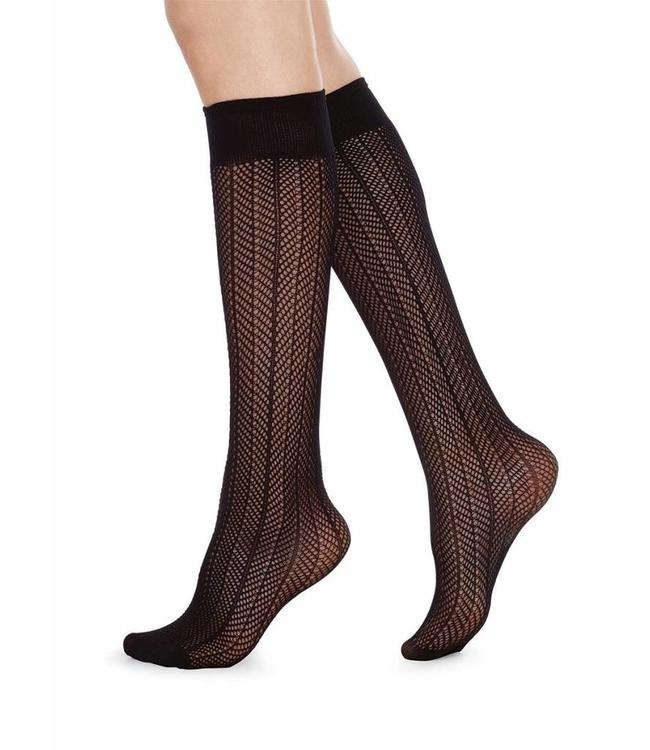 Swedish stockings Astrid Kneehigh Fishnet