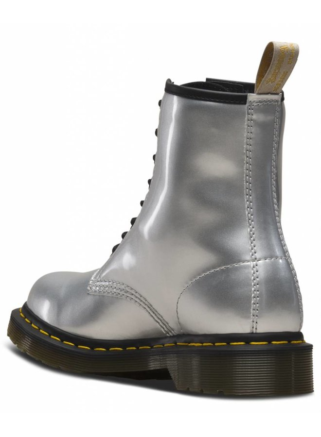 Dr Martens 1460 vegan chrome paint metallic
