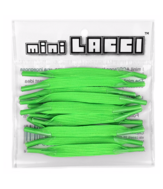 Mini Lacci Mini Lacci ML-08 Neon Groen