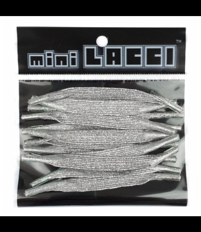 Mini Lacci Mini Lacci ML-30 Zilver Glitter