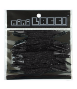 Mini Lacci Mini Lacci ML-31 Zwart Glitter