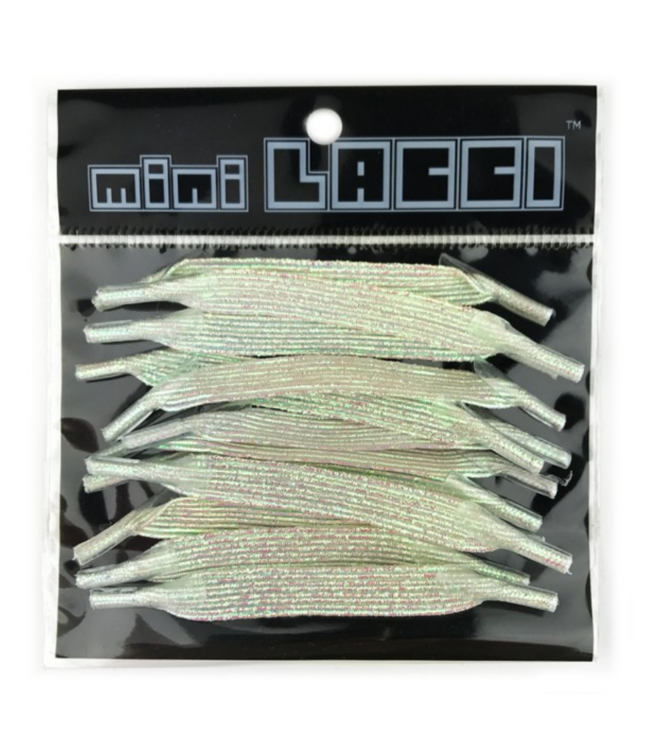 Mini Lacci Mini Lacci ML-33 Wit Parelmoer Glitter