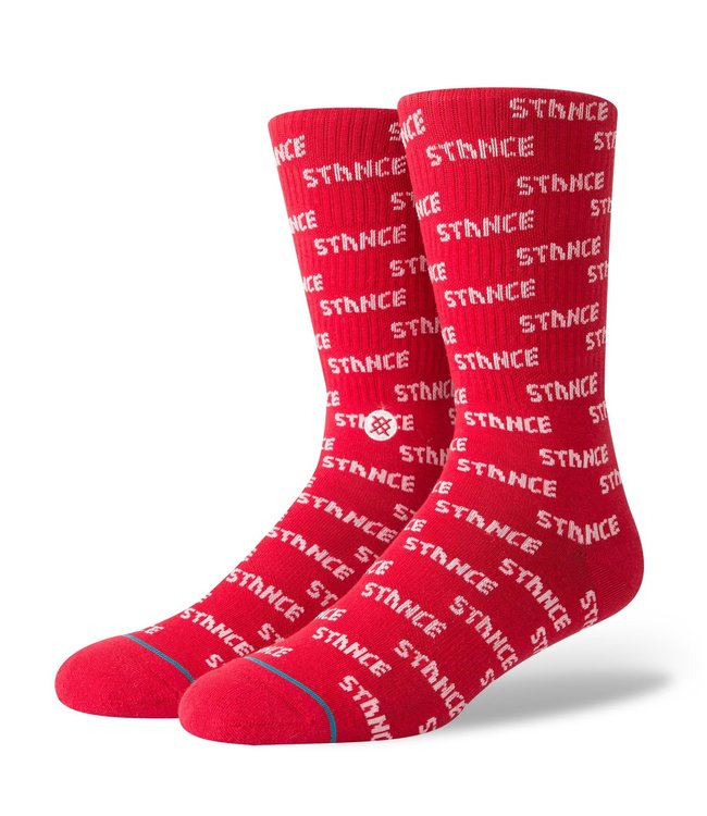 Stance Stance Repeat Red