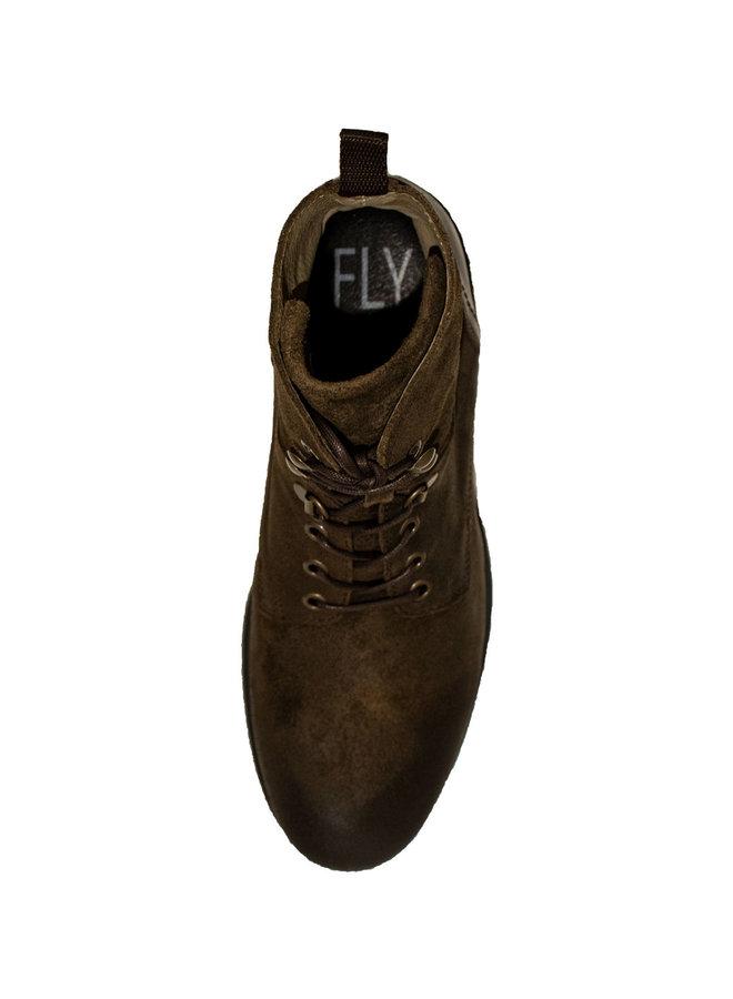 Fly London Dolomite/Rug Militar/DK. Brown