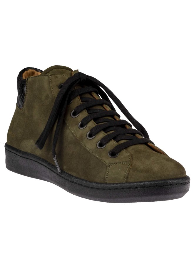 Maison Auguste Ante Olive / Black Laces : Laatste maat 36!