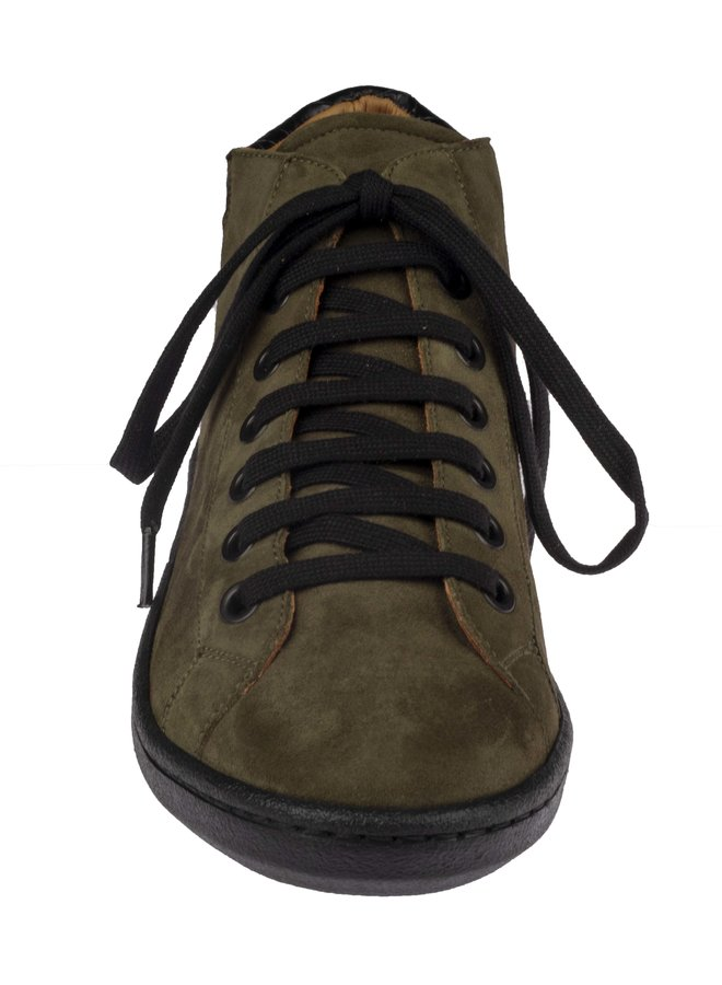 Maison Auguste Ante Olive / Black Laces  :Laatste maat 36!