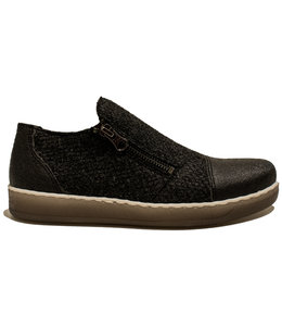 Brako Brako 53315 piñatex/bunch vegan negro Andy