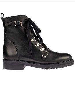Hip Hip D1533 10LE black leather Laatste maten 36, 40 en 41!