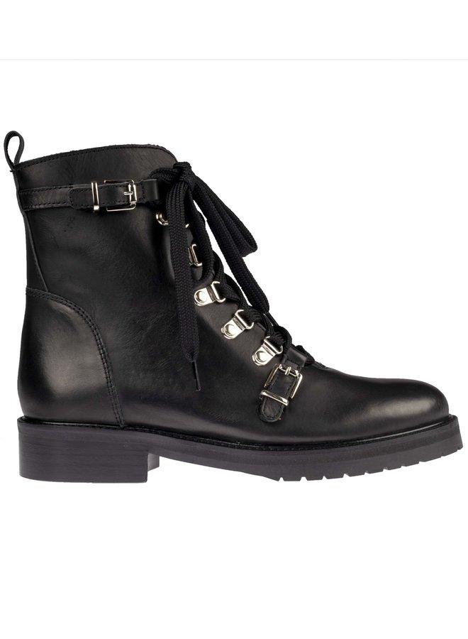 Hip D1533 10LE black leather Laatste maten  40 en41!