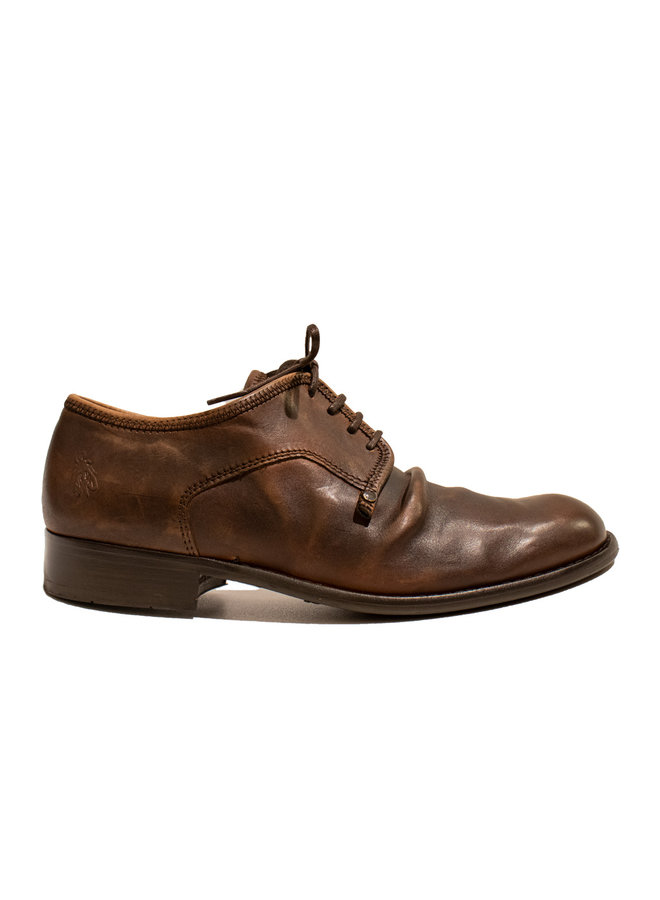 Fly London Washed Leather Camel