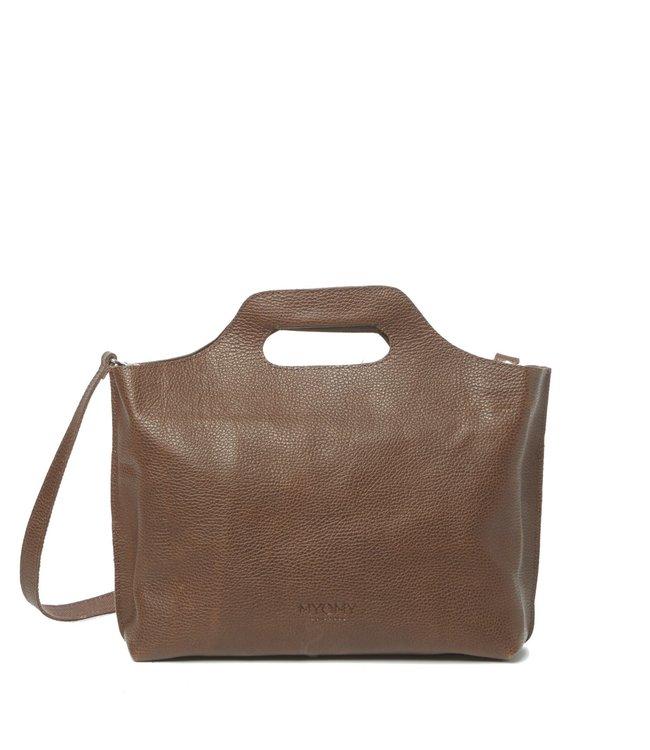 MYOMY MYOMY 80080648 my carry bag handbag rambler brandy