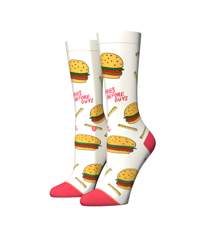 Stance Stance Fries B4 Guys Crew White.  Taille M (38-42)