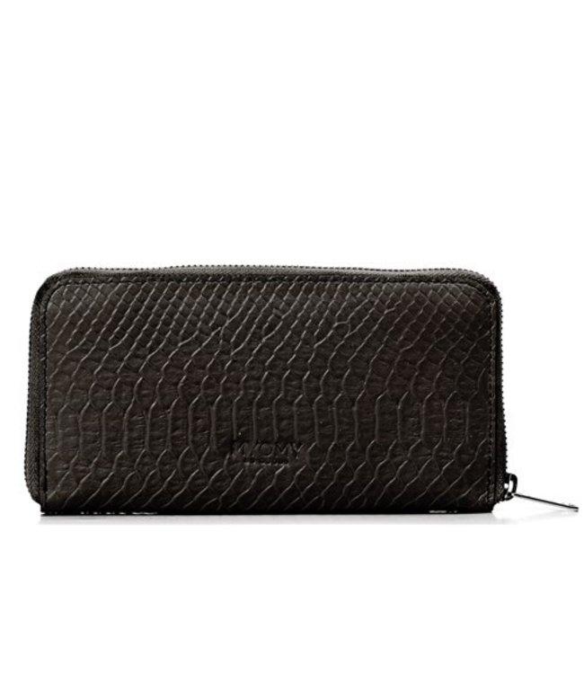 MYOMY MYOMY My Paper Bag Wallet Large anaconda black