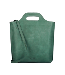 MYOMY MYOMY My Carry Bag Shopper Medium hunter forest green