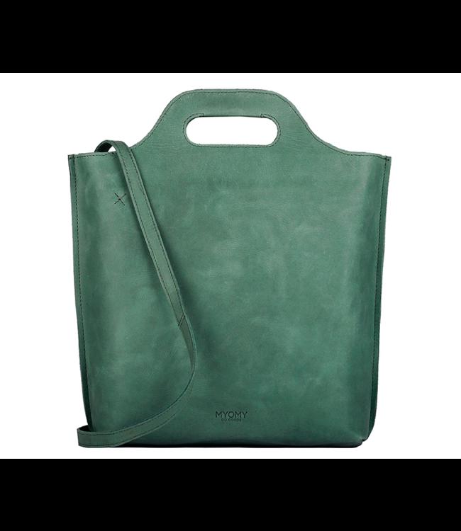 MYOMY MYOMY My Carry Bag Shopper Medium hunter forest green