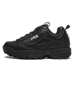 Fila Fila disruptor low wmn black   Nu met gratis shoe float twv 34.95 !!