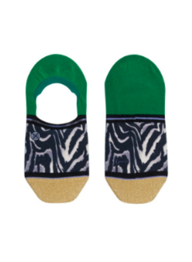 Xpooos Footies Kelly Invisible