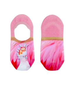 XPOOOS Xpooos Footies Ivy Parrot Invisible