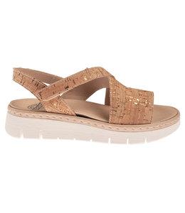 Brako brako 2507 cork vegan sandaal