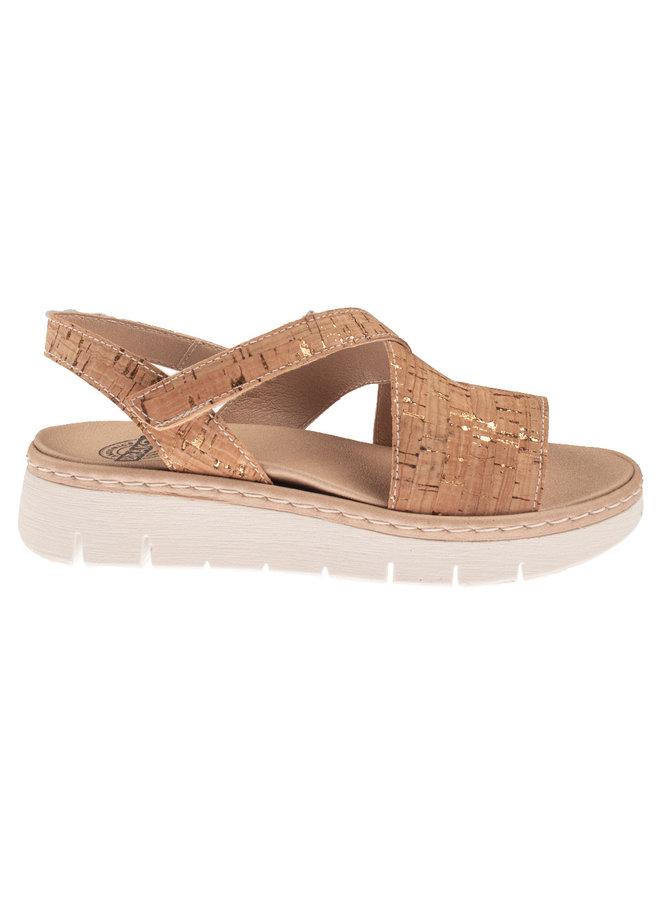 brako 2507 cork vegan sandaal