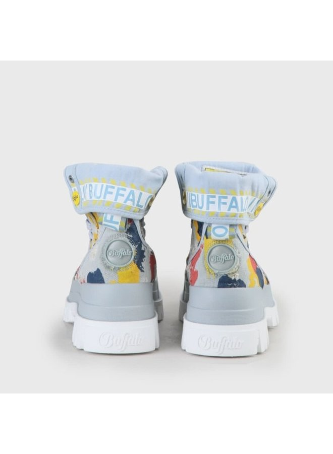 Buffalo Aspha Hi Light blue/Graffiti