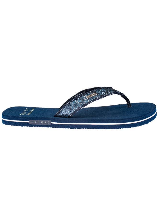Esprit 029EK1W051 glit polk slips dark blue maten 38 en 40!