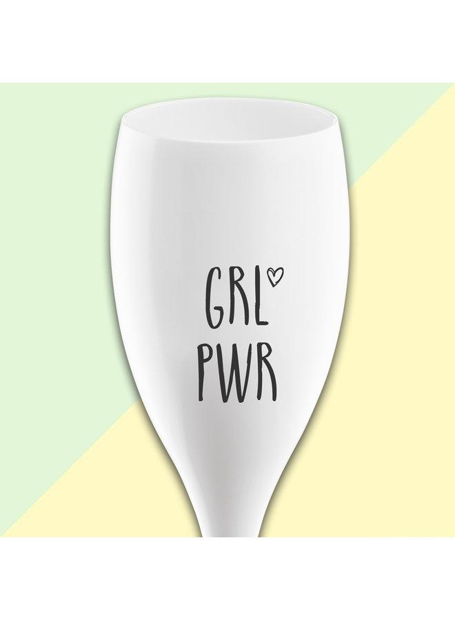 """Kozikol champagneglas """"Girlpower"""""""