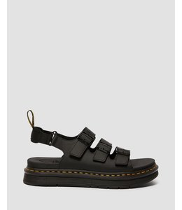 Dr. Martens Dr. Martens 25767001 Soloman Black Hydro Leather