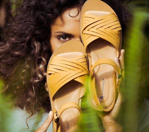 Chaussures écologiques sans chrome