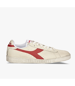 Diadora Diadora game l low waxed white red pepper