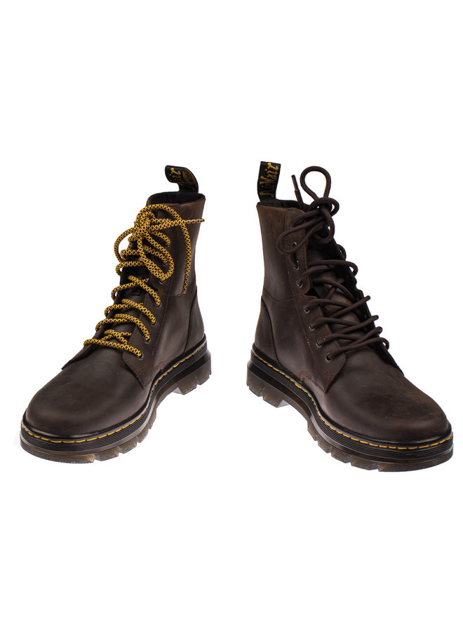 Dr. Martens combs leather gaucho crazy horse
