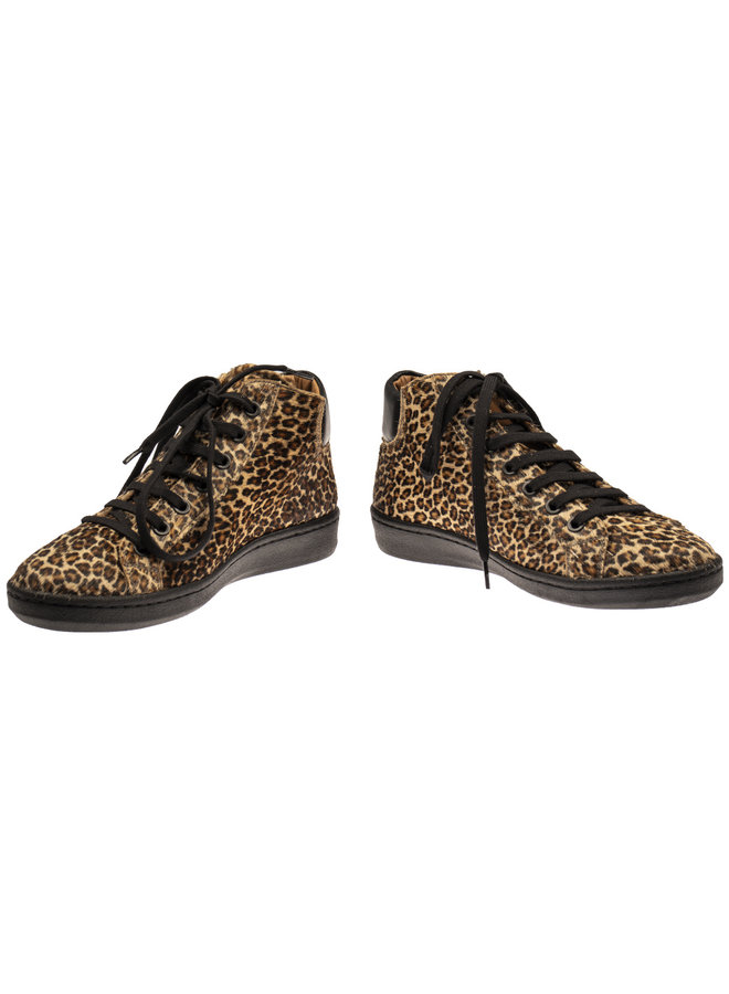 Maison Auguste horsy spiga leopard