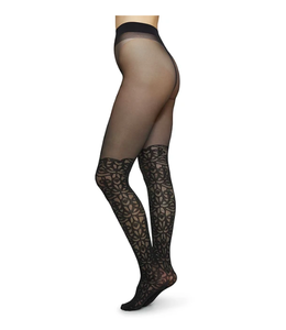 Swedish stockings Linea Lace Over Knee Tights