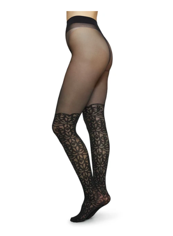 Linea Lace Over Knee Tights
