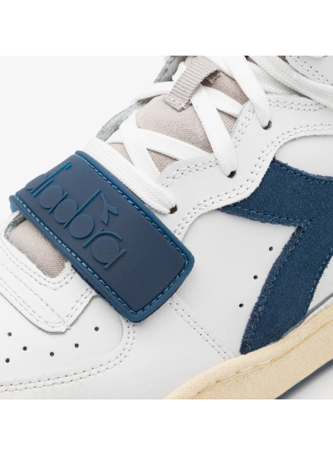 Diadora Mi Basket Used White/Paloma/Dark Denim