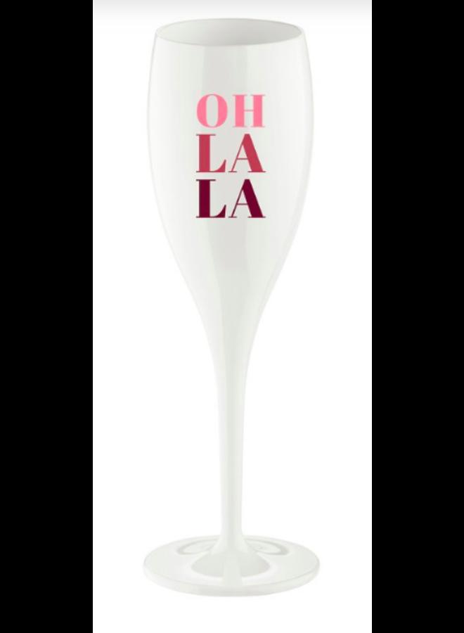 """Koziol Champagneglas """"Oh la la"""""""